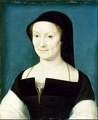 Corneille de Lyon, Isabeau de Savoie, Comtesse du Bouchage, 1530-1545, Houston, Museum of Fine Arts