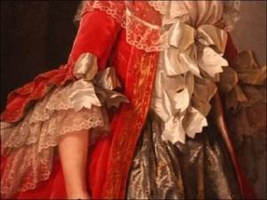 Détail de robe
