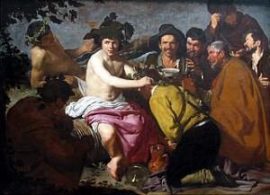 Diego Velazquez, Le Triomphe de Bacchus ou Los borrachos, 1629, Madrid, Prado