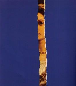 Elmerindo Fiore, La rivelata, détail, 1979, collage, cm 35x27 (Collection privée)