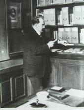 Henri Focillon à la Sorbonne en 1925