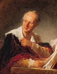 Jean Honoré Fragonard, Figure de fantaisie, 1769, Paris, musée du Louvre