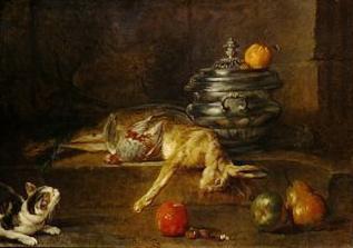 Jean Siméon Chardin, La Soupière en argent, 1728, New York, Metropolitan Museum