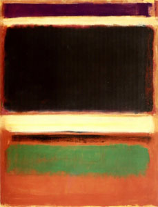 Mark Rothko, Magenta, Black, Green on Orange', 1947, New York, Museum_of_Modern_Art
