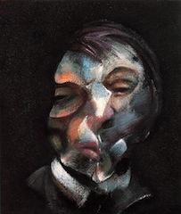 Francis Bacon, Autoportrait, huile sur toile, 1971