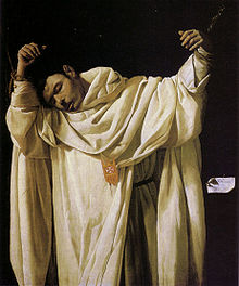 Francisco de Zurbarán, Saint Sérapion, 1628, Hartford