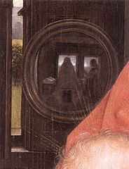 Hans Memling, Retable de Maarten Nieuwenhove (détail), 1487
