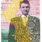 Isodore Isou, Autoportrait, 1952