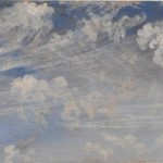 John Constable, Etude de nuages cirrus, vers 1822, Londres