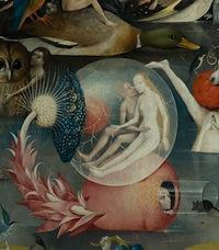 Bosch, Le Jardin des délices, détail