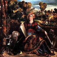Dosso Dossi, Melissa (?), 1520, Rome, Borghese
