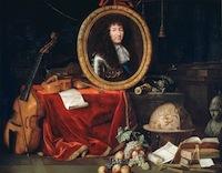 Jean Garnier, Allégorie à Louis XIV, protecteur des Arts et des Sciences, Château de Versailles