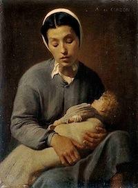 Alfred de Curzon, Une Mère pauvre, Une mère pauvre ou Dans la rue, 1867