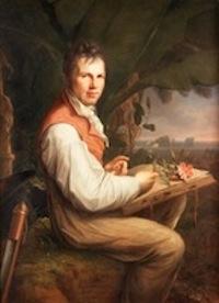 Friedrich Georg Weitsch, Alexandre de Humboldt, 1806, H:T, 126 X 92,5, Berlin, Alte Nationalgalerie