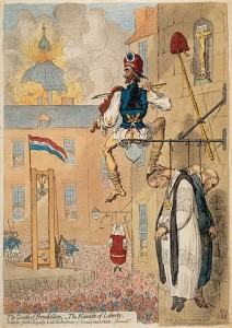 "James Gillray, The Zenith of French Glory"", 12.02.1793"