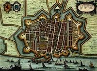 Joan Blaue, Toonneel der Steden, 1652