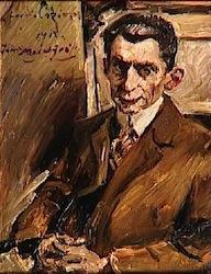 Lovis Corinth, Julius Meier Graefe, 1917, Paris, Orsay