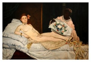 Manet, Olympia, 1863, Paris, Orsay