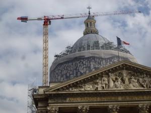 Panthéon, 13 avril 2015