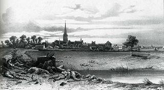 Tom Drake, 'Bataille de Luçon, 1793', Album vendéen, Angers, 1856-1860