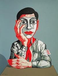 Zeng Fanzhi, Mask 1, 1999[1]