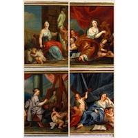 Anonyme italien, Allégorie des Arts, XVIIIe siècle, marché de l'art