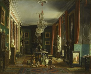 Charles Giraud, Cabinet du comte de Nieuwerkerke, 1857