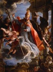 Claudio Coello, Triomphe de Saint Augustin, 1664, Madrid, Prado