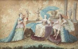 Ecole FRANCAISE du XVIIe siècle, Allégorie d'un mariage princier