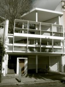 Maison Curutchet, par Le Corbusier, La Plata (Argentine), 1949