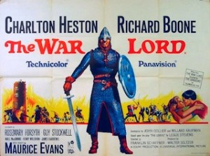 The War Lord, affiche, 1965