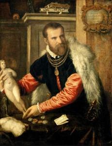 Titien, Portrait de Jacopo Strada, 1567-1568, Vienne