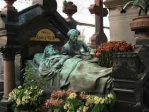 Tombeau de La Famille Pigeon, Paris, cimetière Montparnasse, 1905