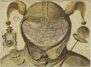 Anonyme, Le Monde dans une tête de fou, vers 1590, Paris, BNF,