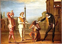 Claude Gillot « Le Tombeau de Maître André », Paris, musée du Louvre