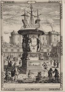 Douceur, projet de fontaine, BNF