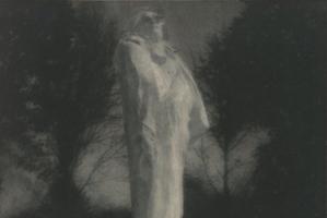 Edward Steichen, Balzac, photographie au charbon direct, 15,7 x 19,1, Paris, musée Rodin