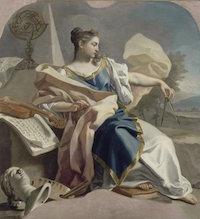 Francesco De Mura, Allégorie des arts, 1750, Paris, Louvres