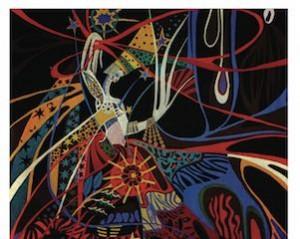 Pap Libra Tall, La Semeuse d'étoiles, tapisserie, sans date