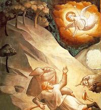 Taddeo Gaddi, Annonciation aux bergers, C 1330, Florence, Santa Croce