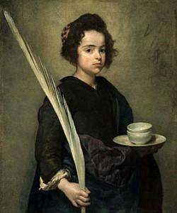 Velazquez, Santa Rufina, 1628-1629