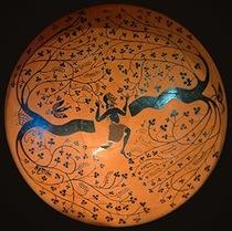 Coupe à l'oiseleur, céramique ionienne, v. 550 av. J.-C., Paris, Louvre