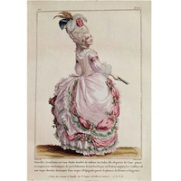 Gravure de mode XVIIIe siècle