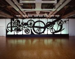 Jean Tinguely, Requiem pour une feuille morte, 1967, Paris