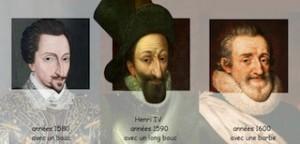 Les barbes d'Henri IV
