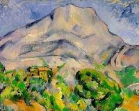Cézanne, La montagne Sainte Victoire, 1898