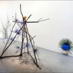 Camille Henrot, Est-il possible d'être révolutionnaire et d'aimer les fleurs ?, 2012, Installation
