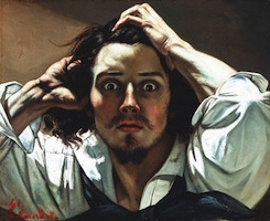 Gustave Courbet, Le Désespéré, 1843-45