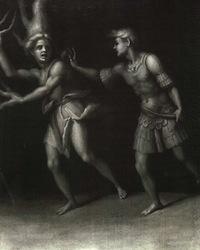 Jacopo Pontormo, Apollon et Daphne, 1513