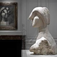 Picasso, Tête de Marie-Thérèse, sculpture, Fondation Beyeler, Riehen_Bâle